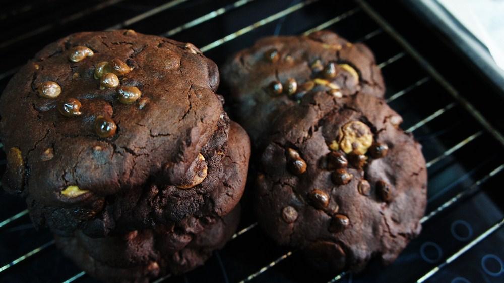 Cookie de Chocolate Duplo