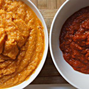 Molho de tomate fresco e caseiro