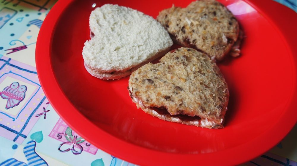 Sanduíche de Geléia para Bebês