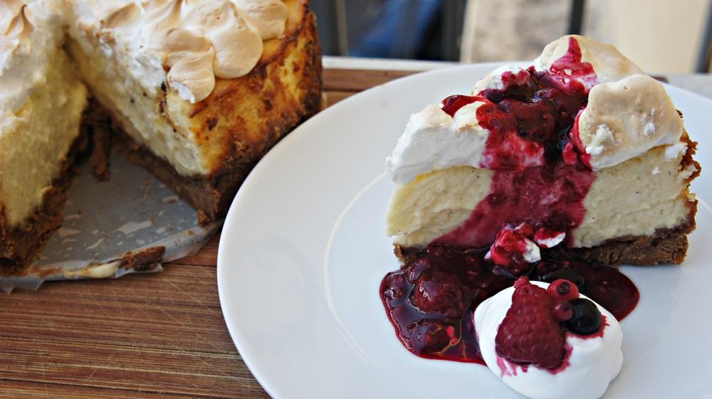 Receita de Cheesecake Americano do Jamie Oliver