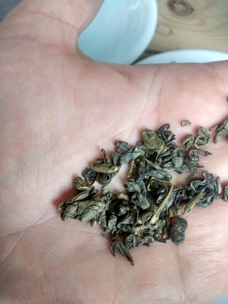 Gunpowder Tea ou Chá Pólvora
