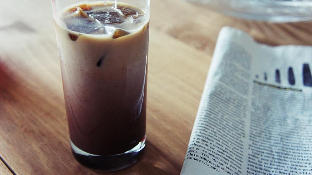 Receita de Café Gelado com Cacau e Leite Condensado