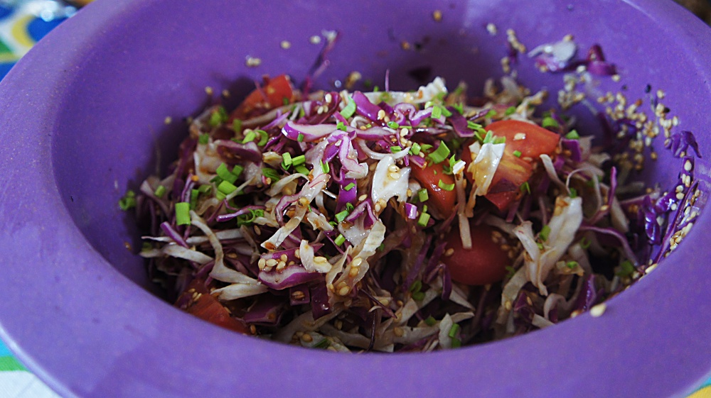 5 Receitas de Salada de Repolho com Gengibre, Cenoura, Abacaxi, Coco e Maçã