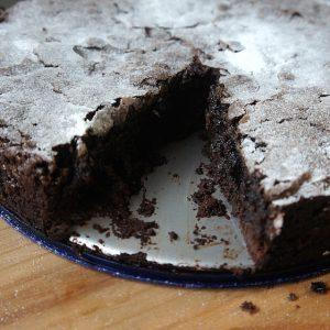 Receita do Bolo de Chocolate dos Suecos, o Kladdkaka