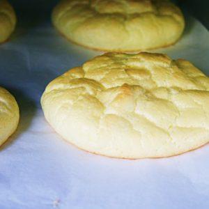 Receita de Pão Nuvem (Cloud Bread)