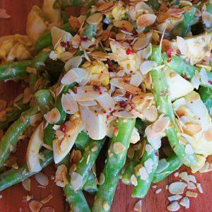 Receita de Salada de Vagem com Ovo Cozido