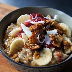 5 Opções de Café da Manhã com Aveia para Você Programar a Semana