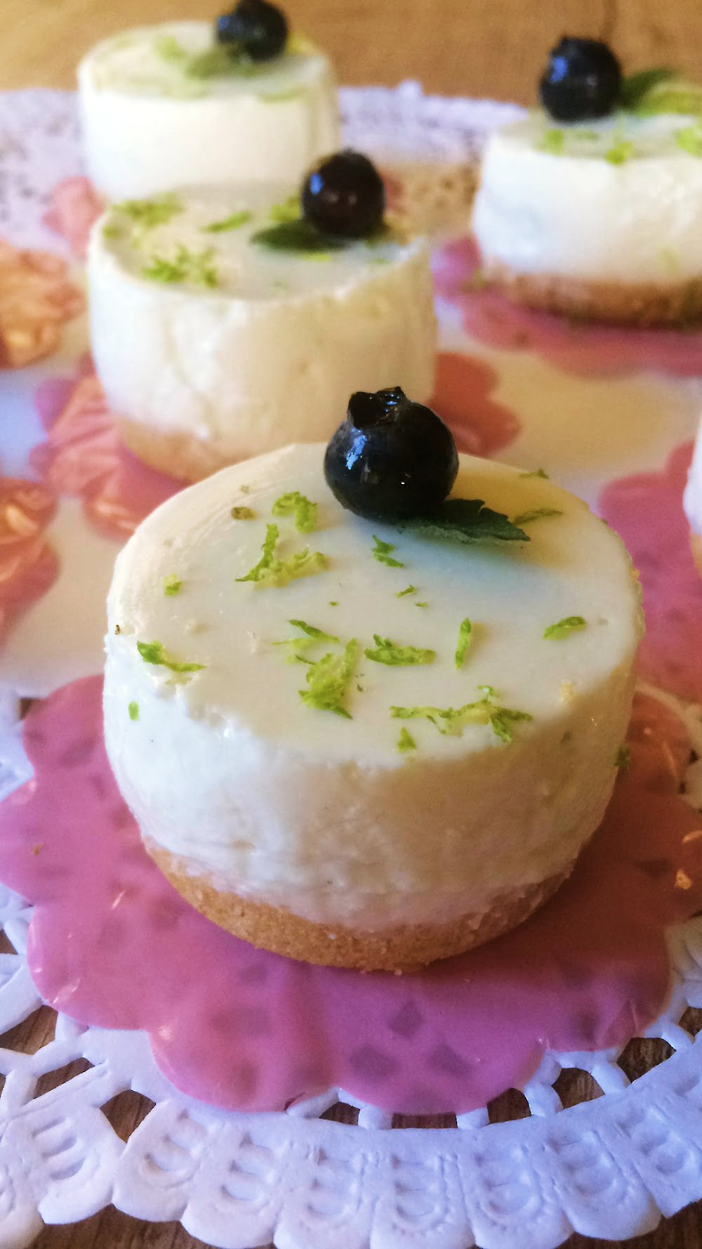 Receita de Mini Cheesecake de Limão com Queijo Quark