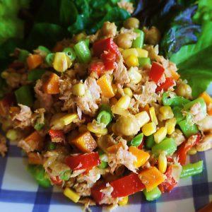 Receita de Salada de Atum