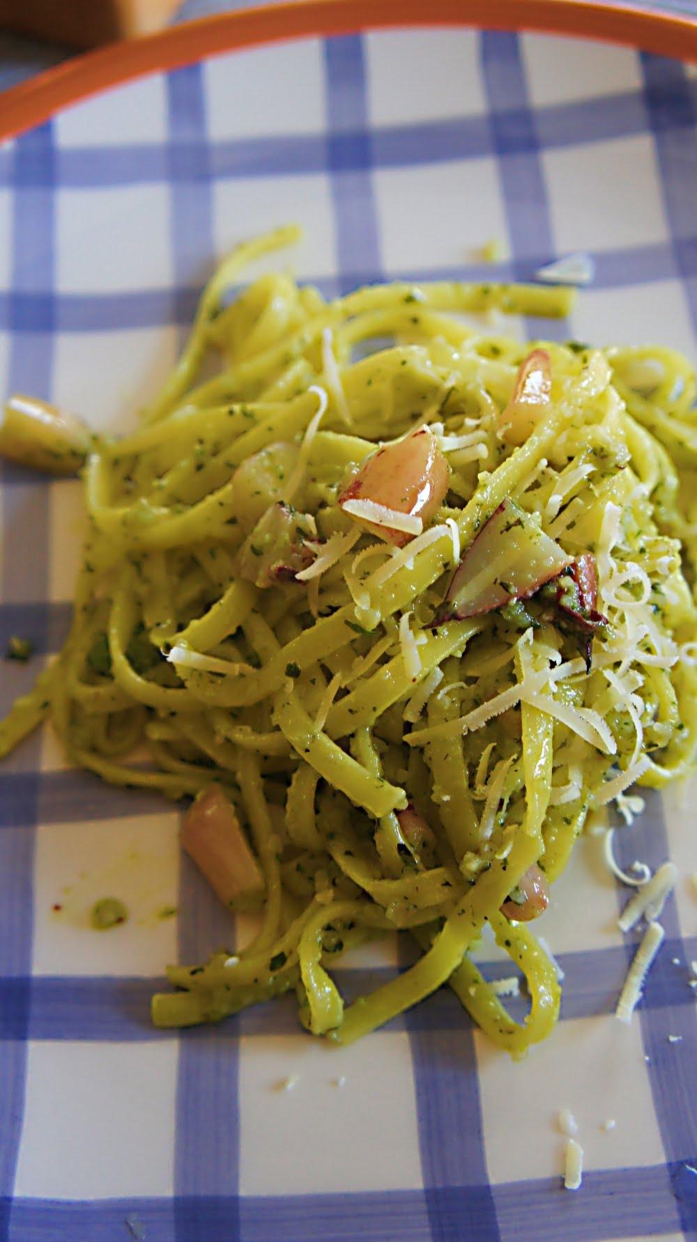 Receita de Pesto com Pinhão