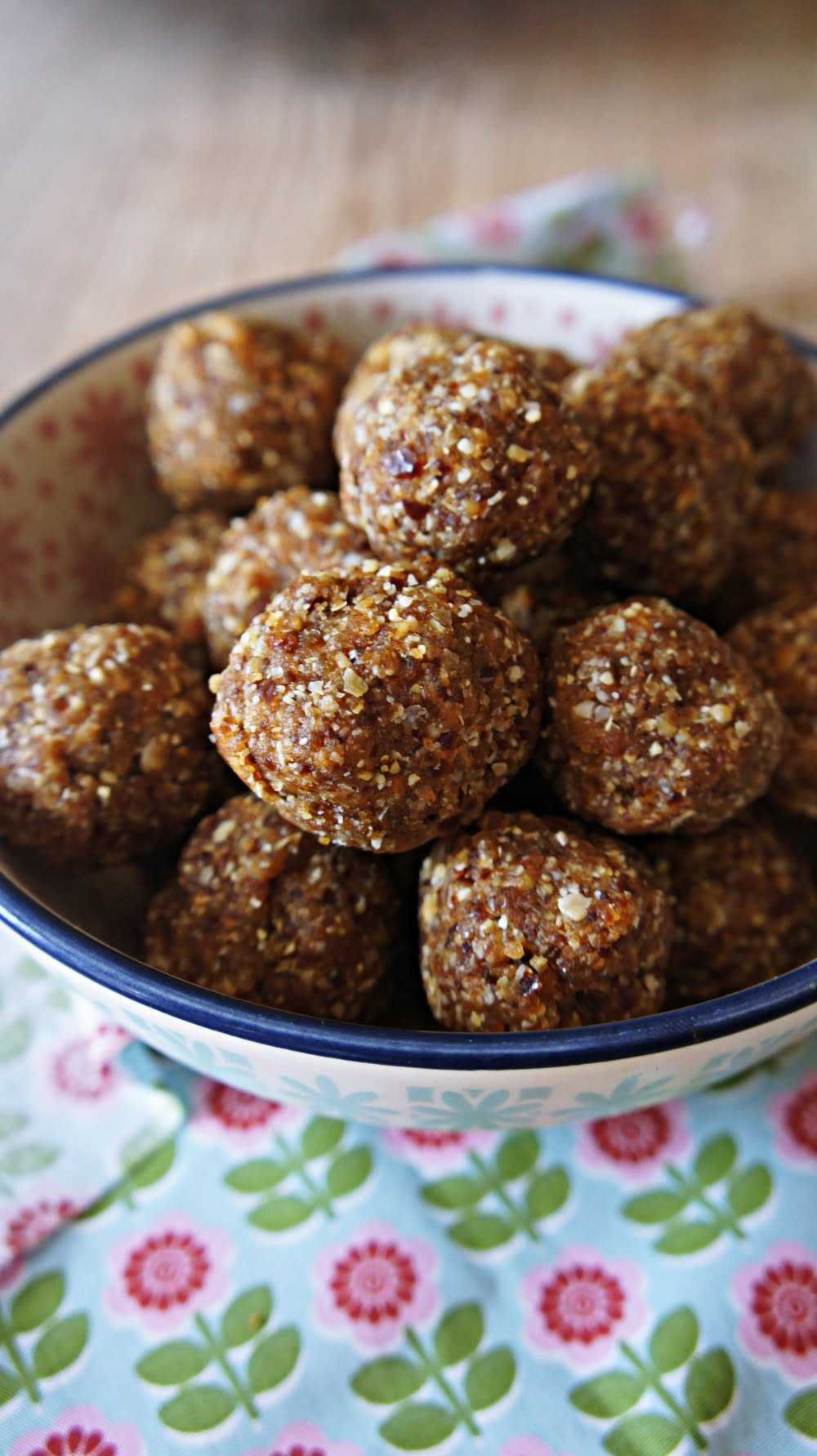 Receita de Energy Balls de Amendoim