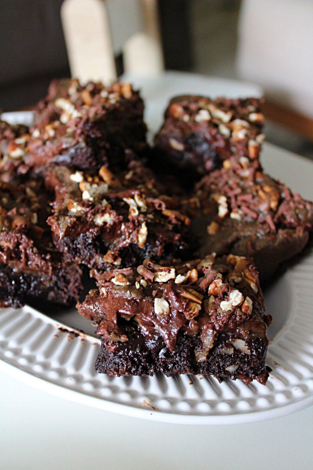 Brownie com Caramelo Salgado