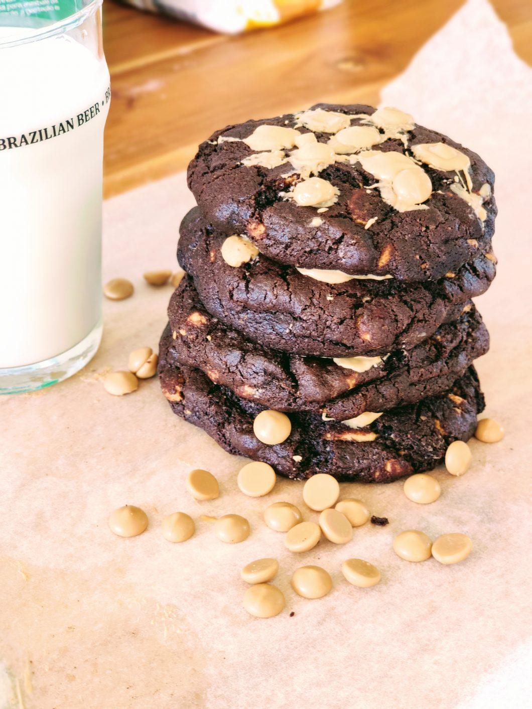 Cookie de Chocolate e Caramelo